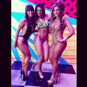 Panicats Carol Dias, Renata Molinaro e Babi Rossi (Foto: Instagram/ Reprodução)
