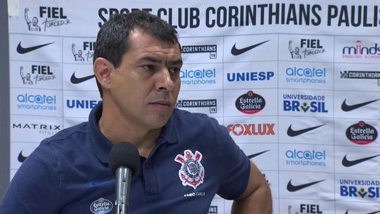 """Carille vê Corinthians equilibrado e elogia Giovanni Augusto: """"Acima do esperado"""""""