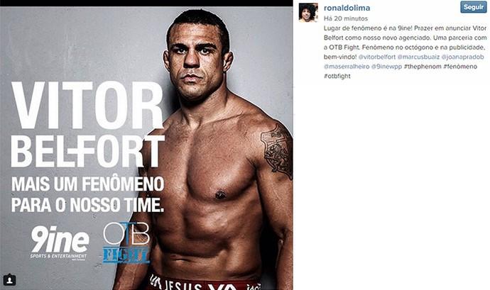 Vitor Belfort UFC (Foto: Reprodução / Instagram)