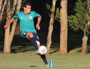 Neílson, atacante do Londrina (Foto: Site oficial do Londrina/Divulgação)