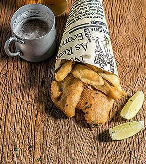 Fish and chips (Foto: Ricardo Correa/Casa e Jardim)