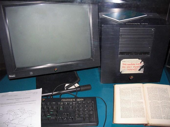 Primeiro servidor web de Tim Berners-Lee (Foto: Reprodução/Wikipédia)