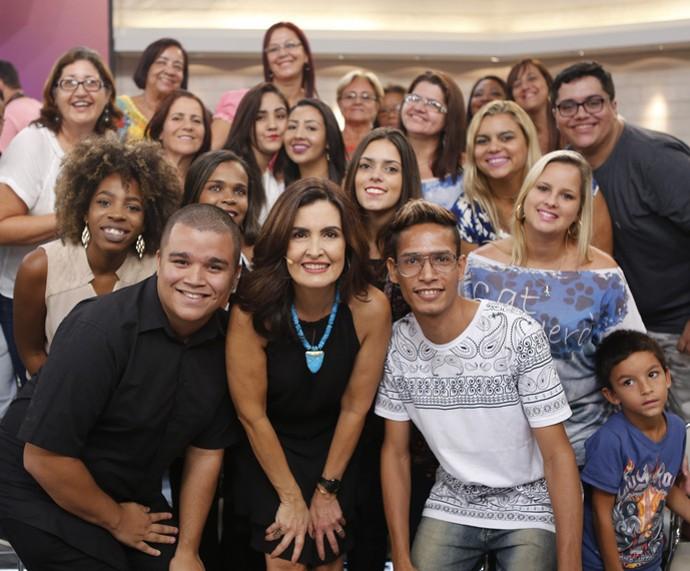 Mais plateia que participou do 'Encontro'  (Foto: Fabiano Battaglin/Gshow)