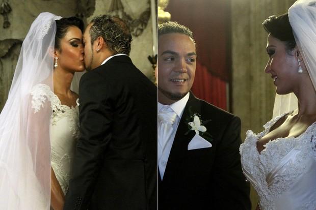 CASAMENTOS - Belo e Gracyanne Barbosa - 2012 (Foto: Daniel Pinheiro /AgNews)