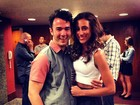 Kevin Jonas promete badalação com a mulher após show no Rio