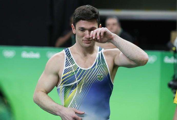 Diego Hypolito na Olimpíada (Foto: Ricardo Bufolin/CBG)