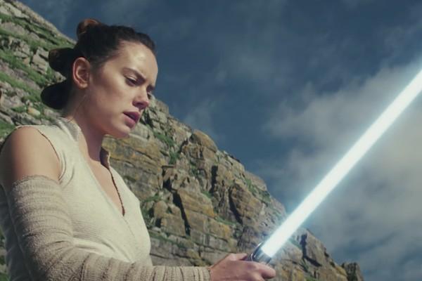 A atriz Daisy Ridley em Star Wars (Foto: Reprodução)