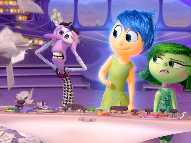 'Divertida mente', filme da Pixar, mostra como são lidam as emoções na cabeça das pessoas (Foto: Divulgação)