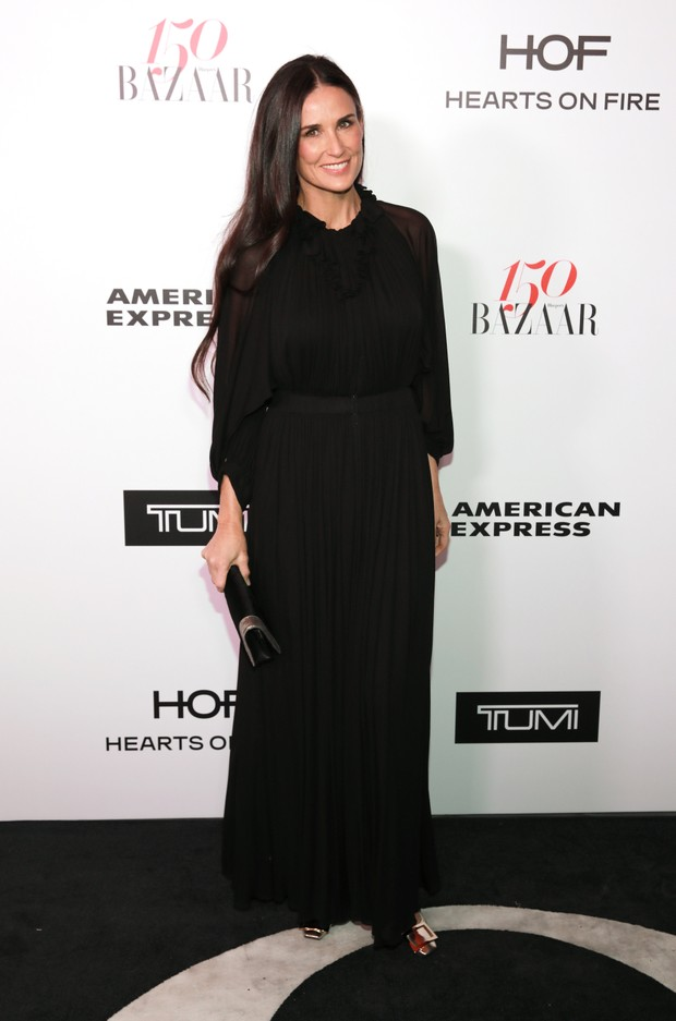 Demi Moore em evento em Los Angeles, nos Estados Unidos (Foto: Rachel Murray/ Getty Images/ AFP)