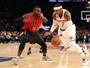 Dupla comanda novamente, e Knicks batem Hawks com autoridade em NY