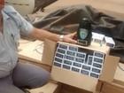 Polícia apreende carreta de cigarros contrabandeados em Araçatuba