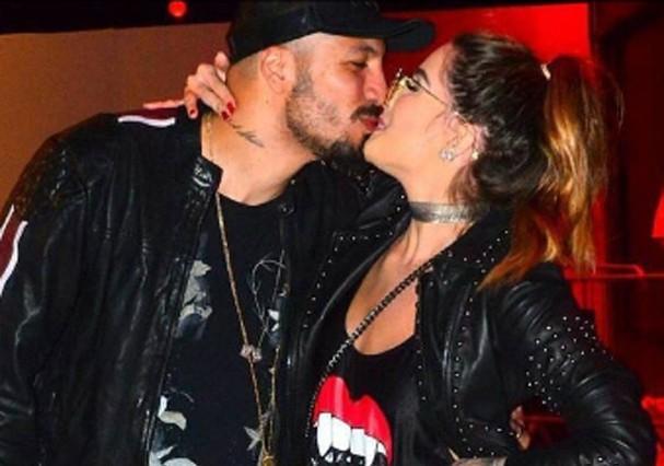 Aline Gotschalg e Fernando Medeiros (Foto: Instagram/Reprodução)