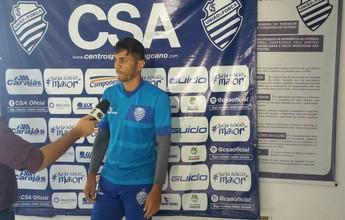 Novo goleiro do ASA, Carlão fala  sobre passagem por Coruripe e CSA