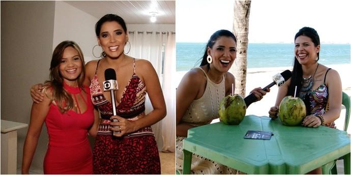 Rafaela Oliveira e Ad Shinaider mandam bem no sertanejo cearense (Foto: Se Liga VM)