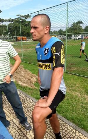 Lucas Botafogo treino (Foto: Pedro Venancio)