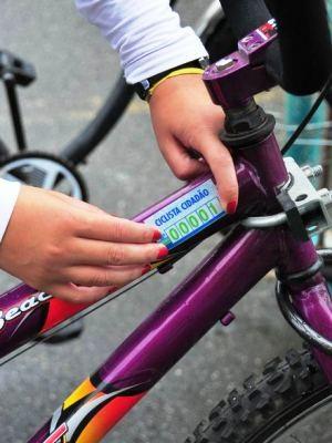 Selo ciclista cidadão foi criado em 2011 (Foto: Divulgação/Prefeitura de Praia Grande)
