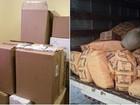127 quilos de cigarro falsificados foram apreendidos em Ananindeua