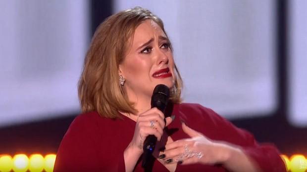 Adele BRIT 2016 (Foto: reproduo)