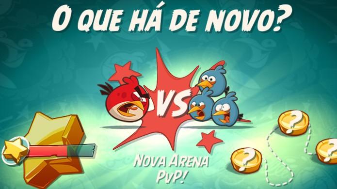 Angry Birds 2 recebe nova arena PvP em recente atualização (Foto: Reprodução/Rafael Monteiro)
