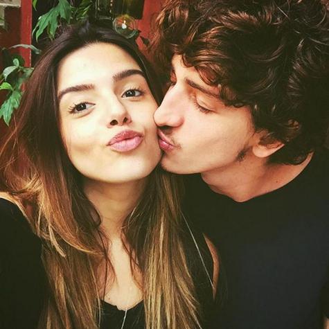 Giovanna Lancellotti e Johnny Massaro (Foto: Reprodução)
