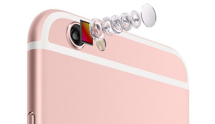 iPhone 6S e iPhone 6S Plus trazem câmera de 12 megapixels (Foto: Divulgação/Apple) (Foto: iPhone 6S e iPhone 6S Plus trazem câmera de 12 megapixels (Foto: Divulgação/Apple))