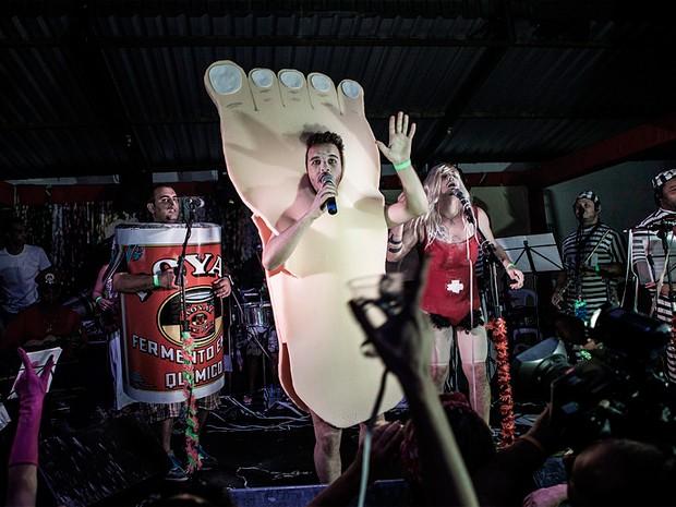 'Baile do Pó Royal' vence Concurso de Marchinhas Mestre Jonas, em Belo Horizonte (Foto: Crédito Flávio Charchar / Árvore de Comunicação)
