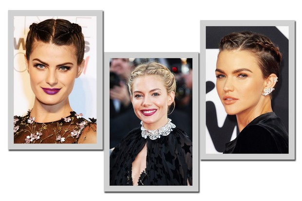Boxer braid presa: Isabeli Fontana, Sienna Miller e Ruby Rose (Foto: Getty Images)