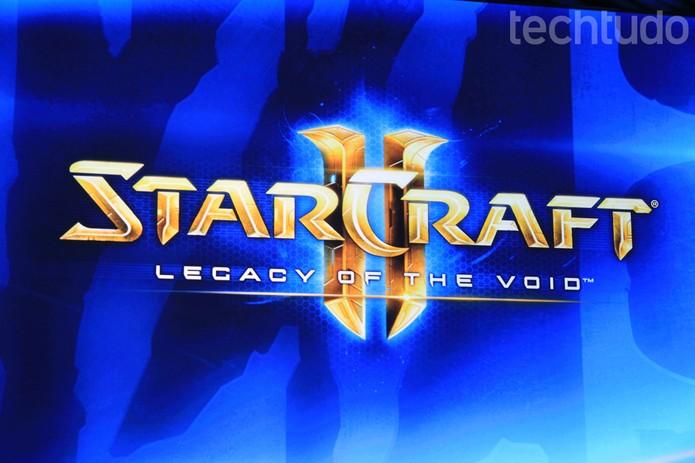 StarCraft 2 também ganhou a última expansão na Blizzcon 2014 (Foto: Anna Kellen/ TechTudo)