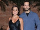 Vladimir Brichta diz que atuar com Adriana Esteves ajuda na relação