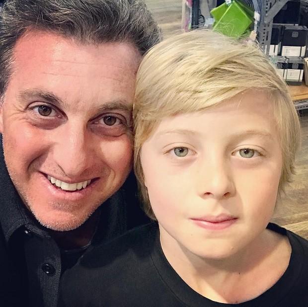 Luciano Huck e Benício (Foto: Reprodução/Instagram)