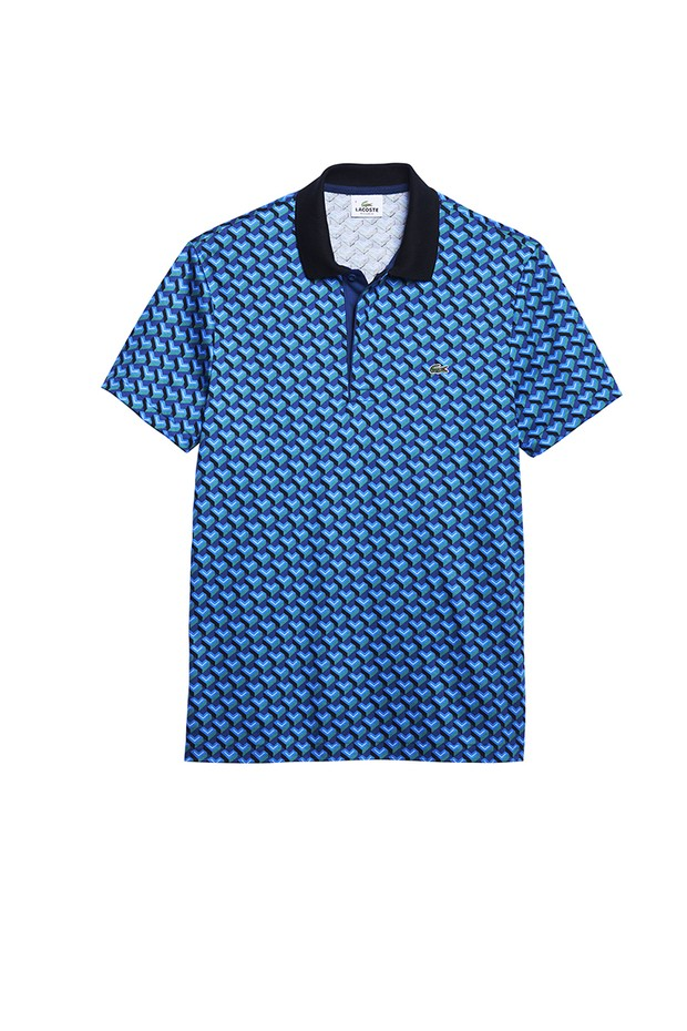 Camisa polo da coleção primavera-verão da Lacoste (Foto  Reprodução) c208460371