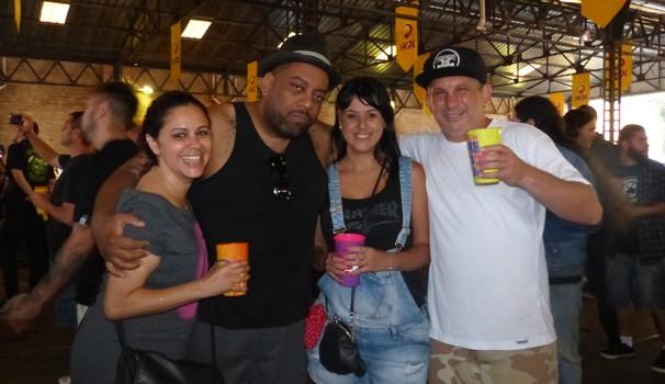 A galera que curte rock se divertiu no Carnaval de Curitiba (Foto: Divulgação/ RPC)