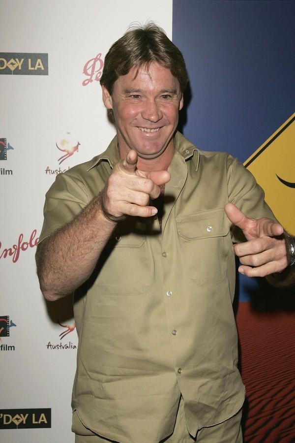 O apresentador Steve Irwin (Foto: Getty Images)