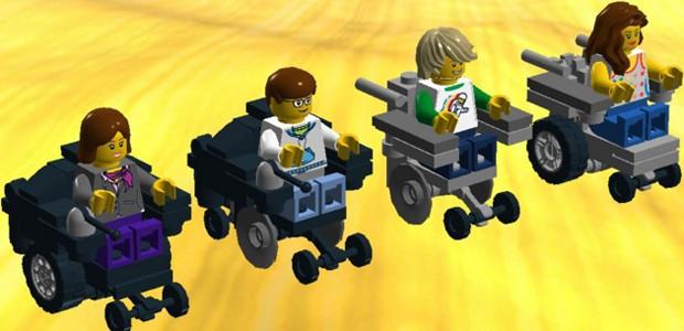 Projeto de bonecos anunciado no ano passado no site da Lego  (Foto: Reprodução)