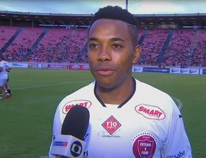 Robinho, ex-Santos (Foto: Reprodução SporTV)