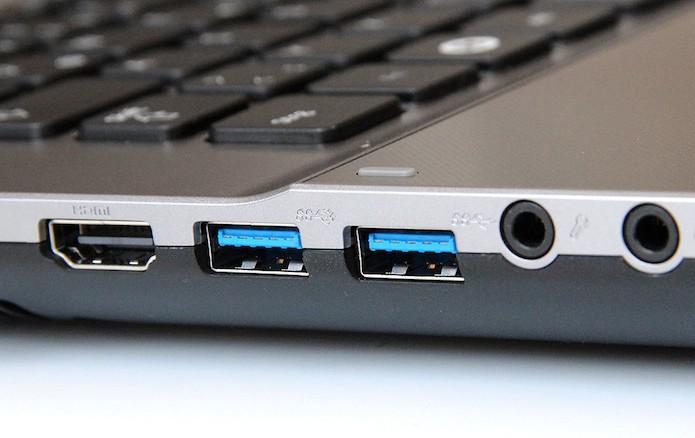 Porta USB 3.0 (Foto: Notebookcheck.com) (Foto: Porta USB 3.0 (Foto: Notebookcheck.com))