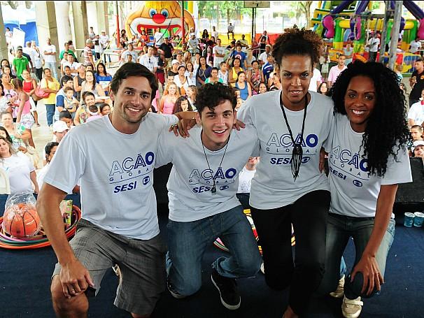 Ação Global: São Gonçalo (Foto: Divulgação/Kiko Cabral)
