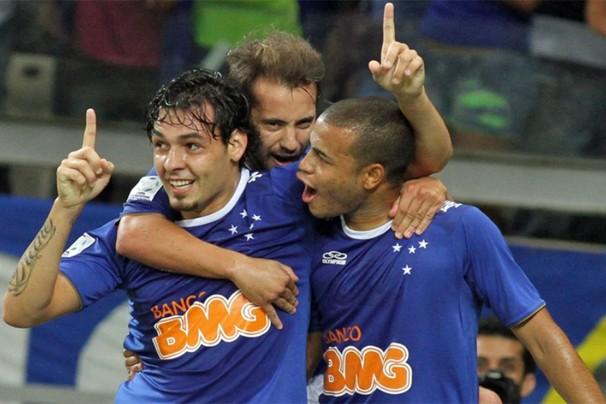 Único time brasileiro na Libertadores, o Cruzeiro joga contra o San Lorenzo da Argentina pelo jogo da volta da Libertadores da América, no Mineirão (Foto: EFE)