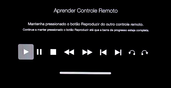 Use o controle secundário para controlar a reprodução de forma mais detalhada (Foto: Reprodução/Paulo Alves)