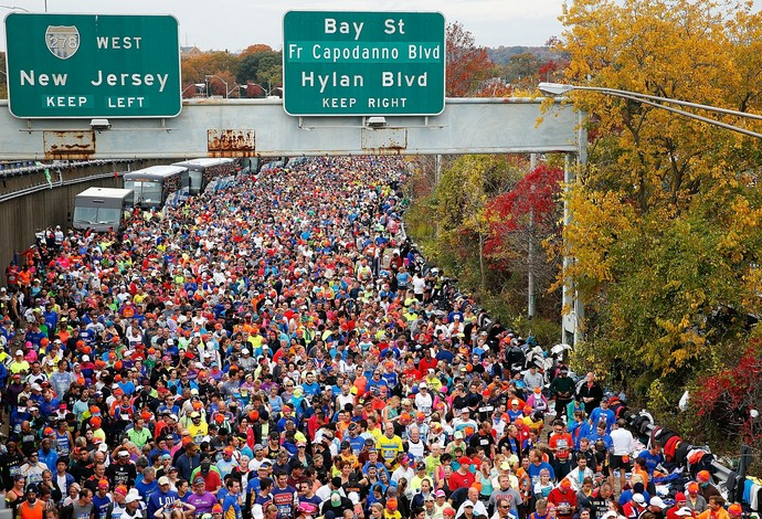 Maratona Ny (Foto: Elsa/Getty Images)