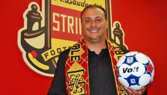 Caio Zanardi, Fort Lauderdale Strikers (Foto: Divulgação)