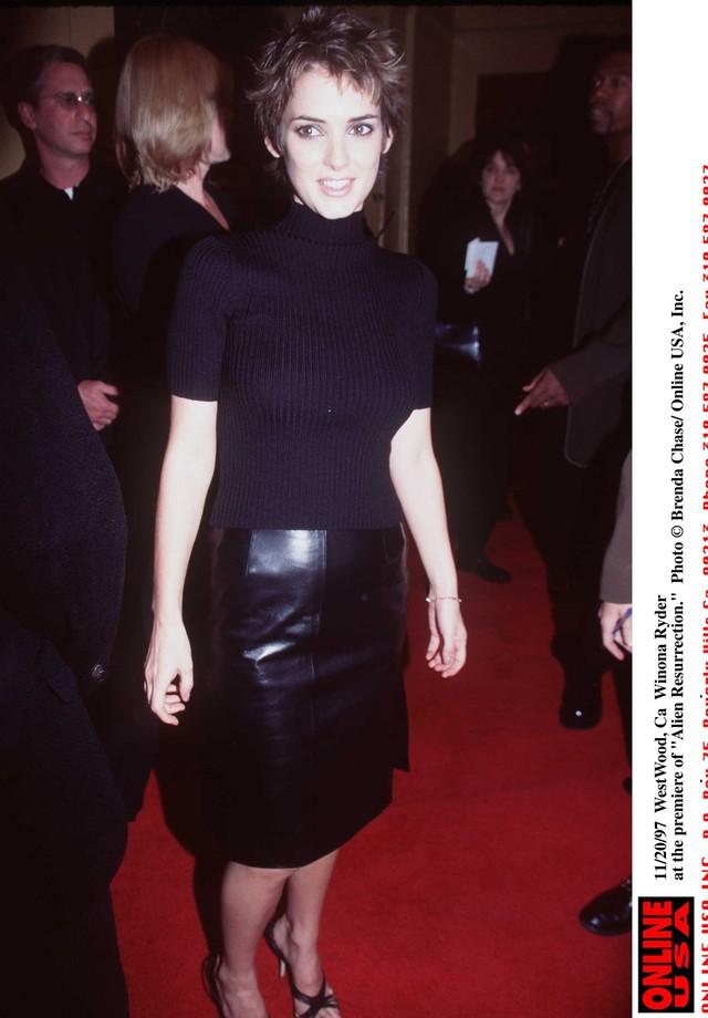 Winona Ryder na década de 1990 (Foto: Getty Images)