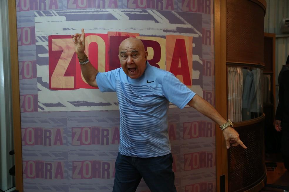 Roberto Guilherme é um dos atores de Zorra (Foto: Isabella Pinheiro/Gshow)