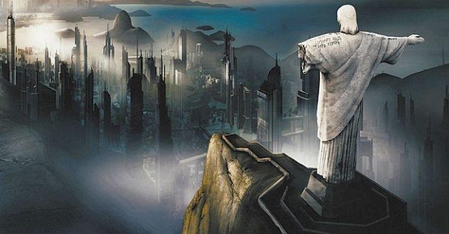 Rio de Janeiro na bancarrota (Foto: Arquivo Google)