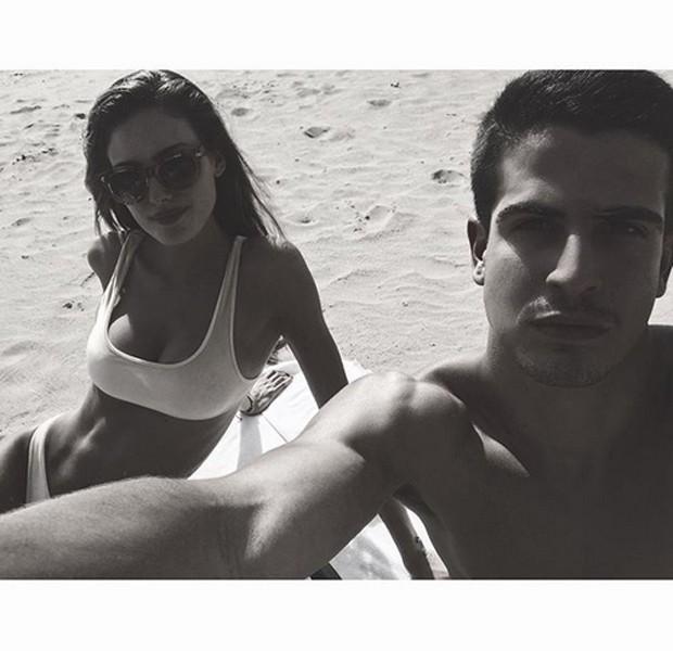 Enzo Celulari e Victória Bartelle (Foto: Reprodução/Instagram)
