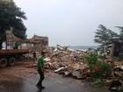 Mirante interditado pela Defesa Civil é demolido em Porto Velho