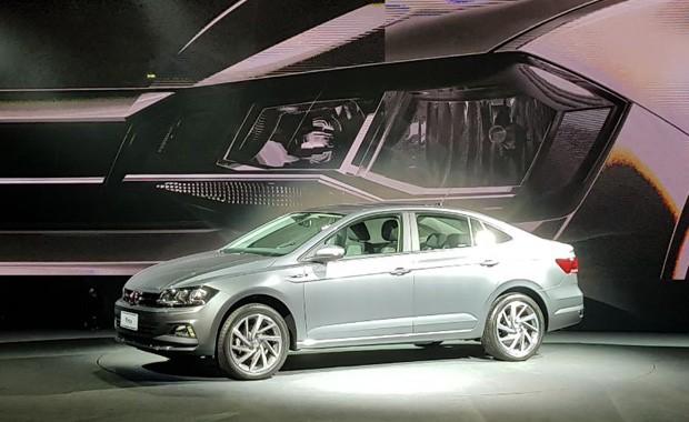 Volkswagen revela novo Virtus no Brasil (Foto: Julio Cabral)