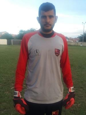 Robson Sousa, novo goleiro do Fla-PI (Foto: Érica Paz / Flamengo-PI)