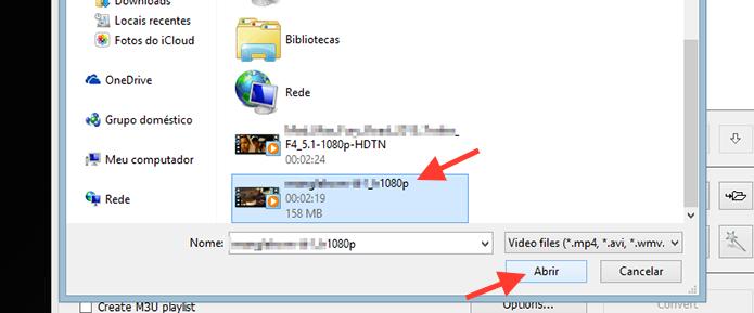 Carregando um vídeo no Free Video To MP3 (Foto: Reprodução/Marvin Costa)