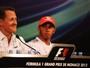 """""""Nunca fiz as coisas que fez para ser campeão"""", diz Hamilton, sobre Schumi"""